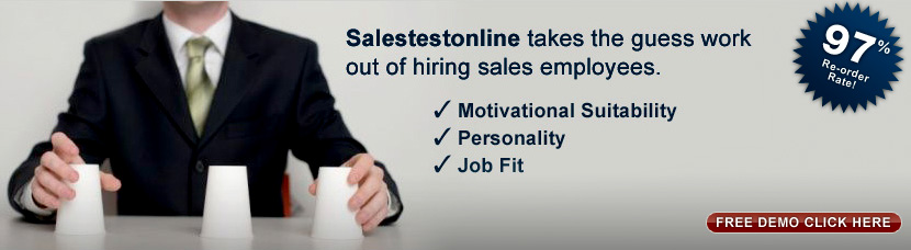 sales personality test image