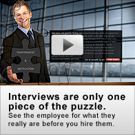 Interviews are only one part of the puzzle